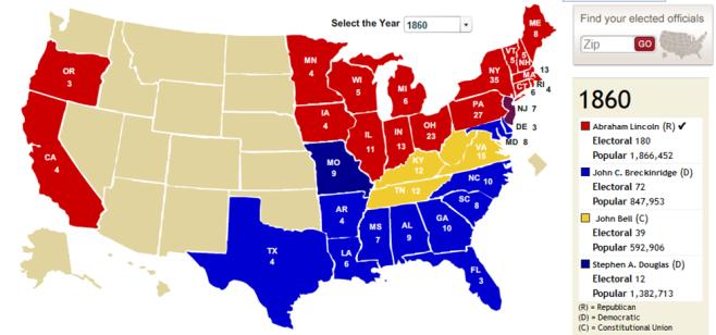 electoral 1860