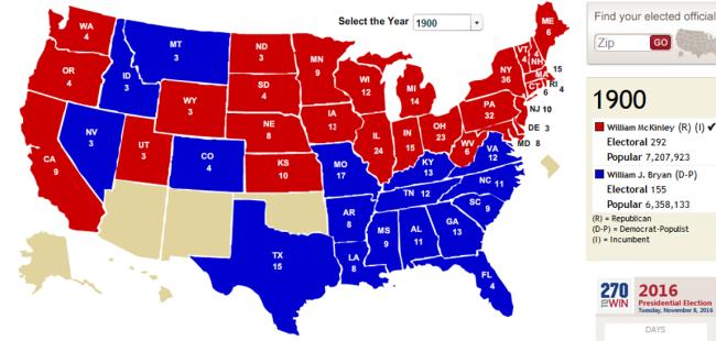 electoral 1900