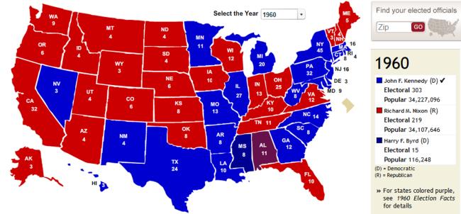 electoral 1960