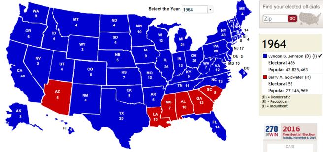 electoral 1964