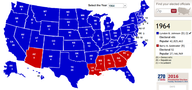 Red States And Blue States Wikipedia Map How Democrats And - Us election map history