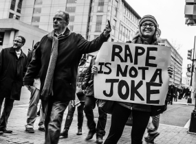 Women's March in D.C., 2017, AfroSapiophile. Photography Credit: Johnny Silvercloud