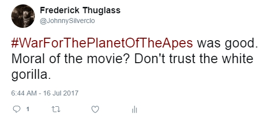 planet of the apes, AfroSapiophile