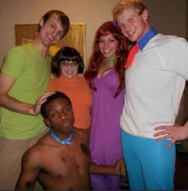 Scooby-Doo-costume, AfroSapiophile